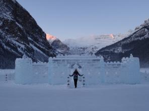 Lake Louise Ice Castle, Lake Louise Alberta